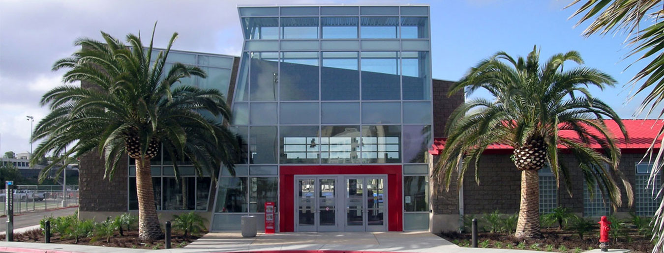 Avrp skyport san diego state university aztec aquaplex for San diego state university swimming pool